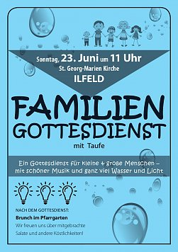 Familiengottesdienst In Ilfeld 19062019 1541 Uhr
