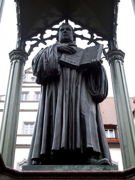 M. Luther in Wittenberg